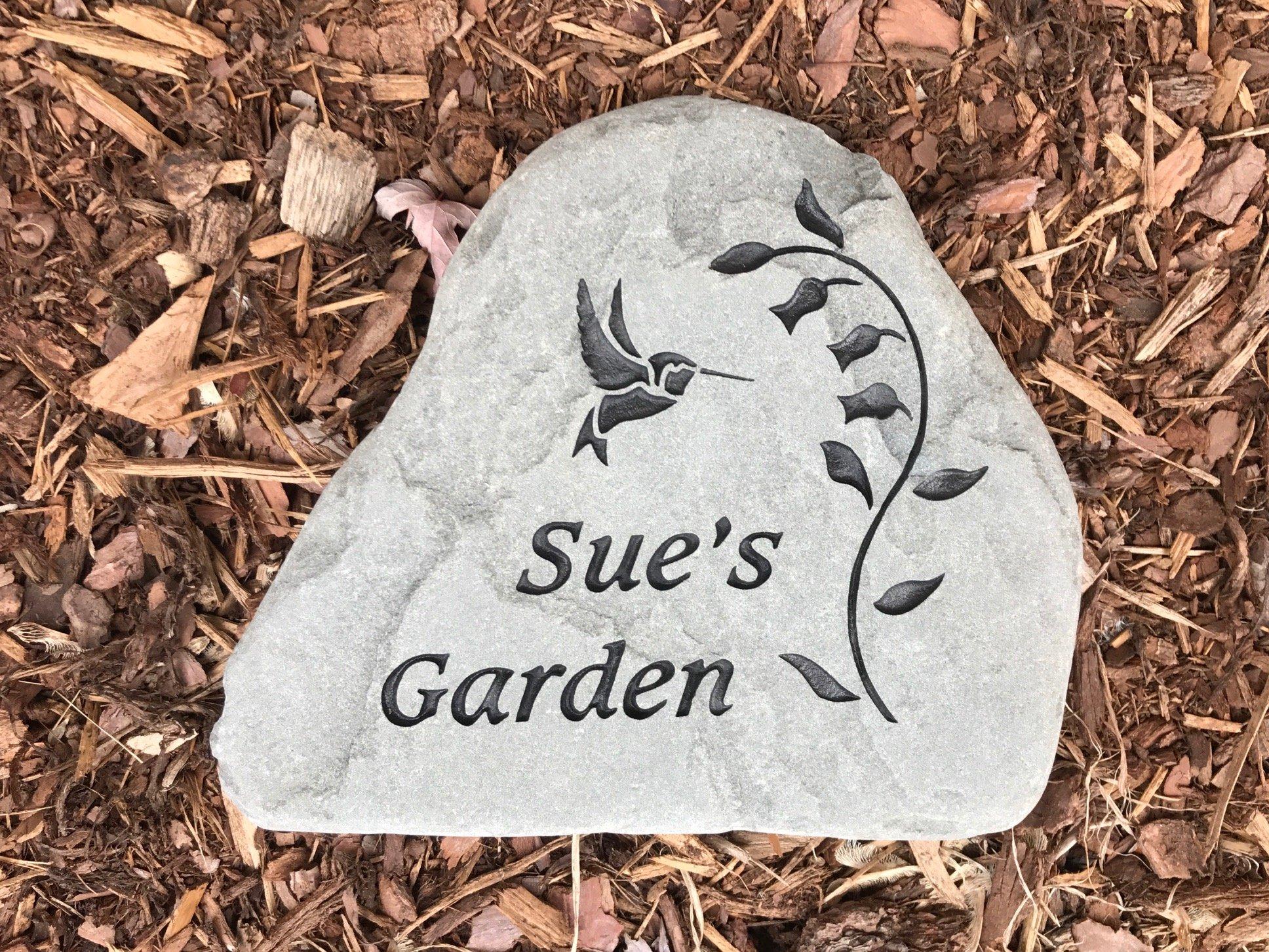 Custom Name Garden Memorials
