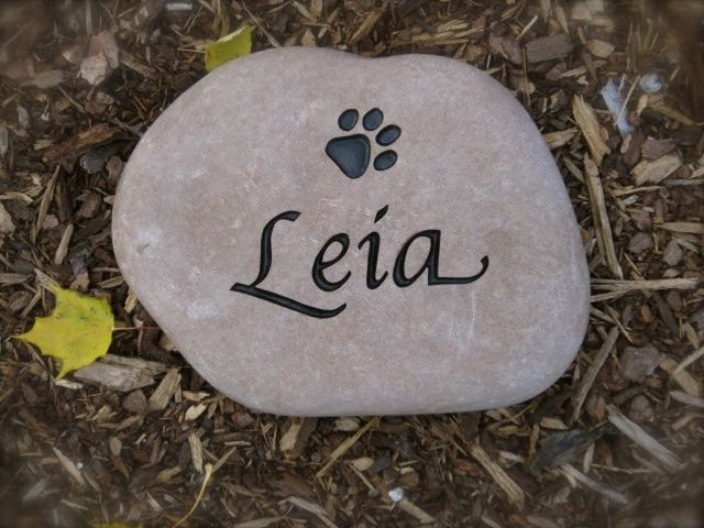 Custom Engraved Pet Memorials